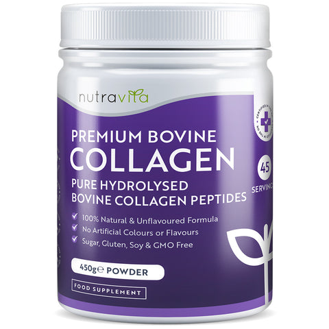 Pure Hydrolysed Bovine Collagen Powder - 450g of Premium Protein Powder