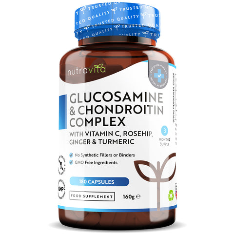 Glucosamine Sulphate Enhanced with Turmeric, Ginger, Vitamin C & Rosehip
