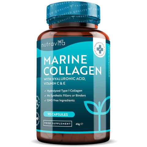 Hydrolysed Marine Collagen with Hyaluronic Acid