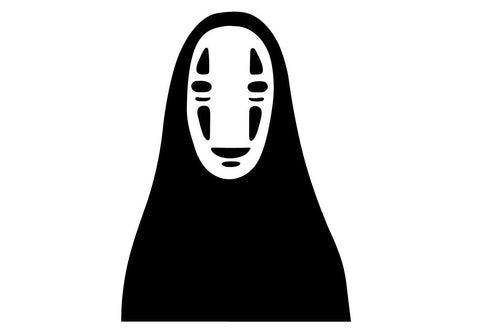 No Face Spirited Away Studio Ghibli