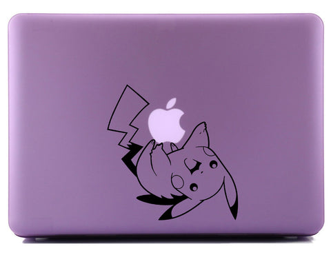 Pikachu Playing with Apple