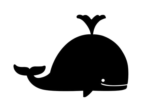 Whale Carrying Apple