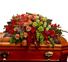 Casket & urn flower collections