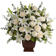 Buy Loving Lilies and Roses Bouquet