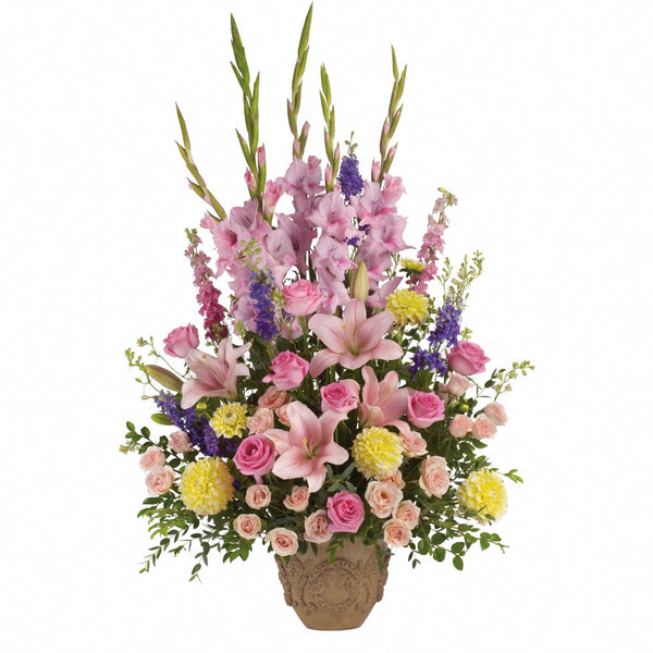 (display image: Ever Upward Bouquet by Teleflora)