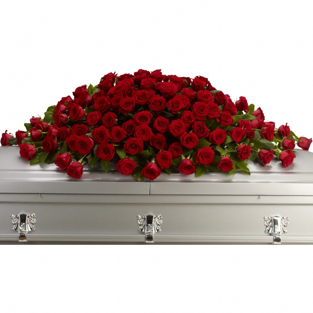 (display image: Greatest Love Casket Spray)