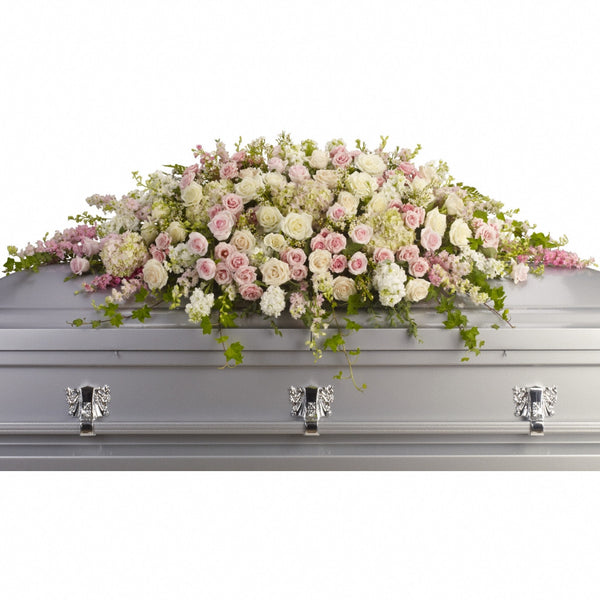 (display image: Always Adored Casket Spray)