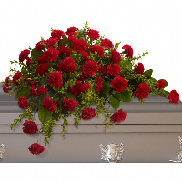 (display image: Adoration Casket Spray)
