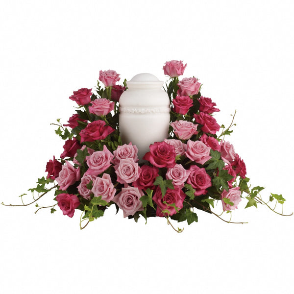 (display image: Bed of Pink Roses)