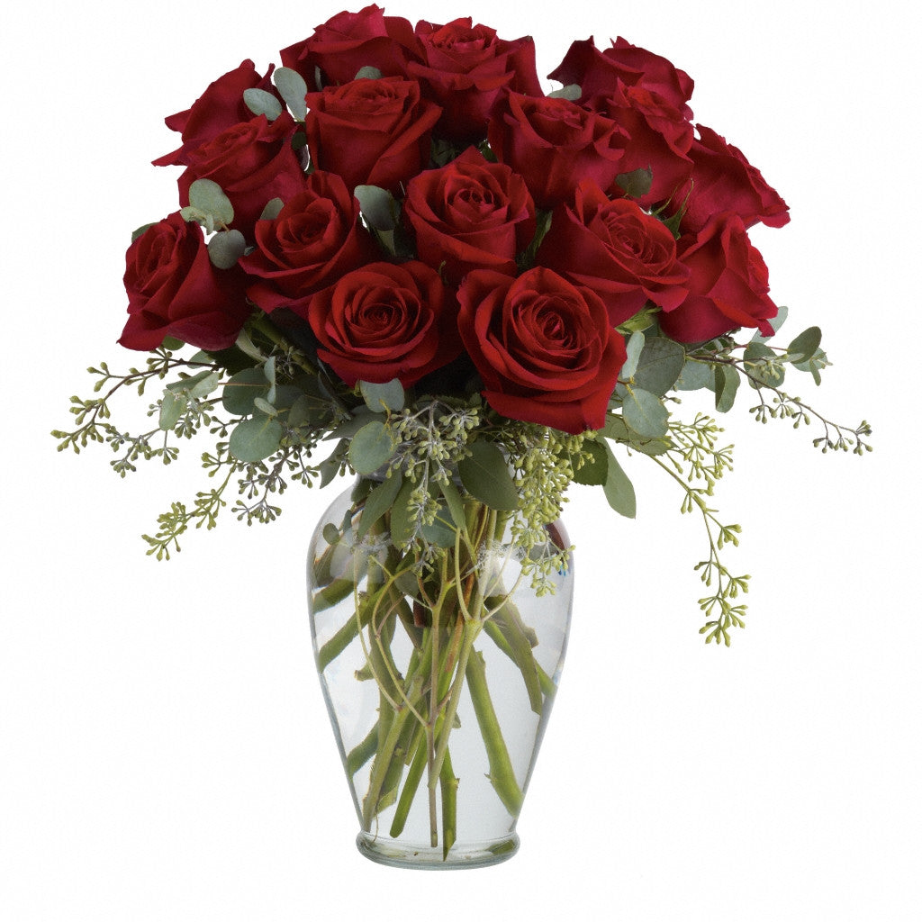 (display image: Full Heart - 16 Premium Red Roses)