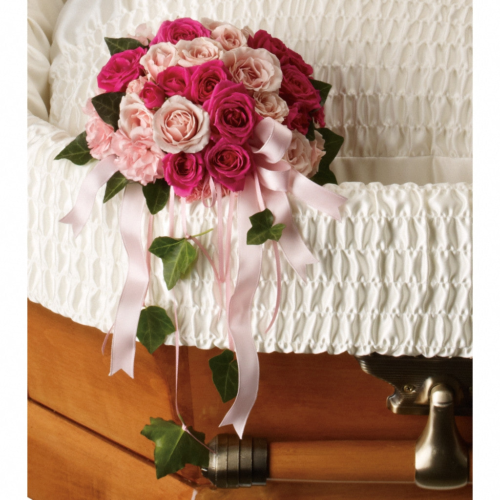 (display image: Rose Reflection Casket Insert)