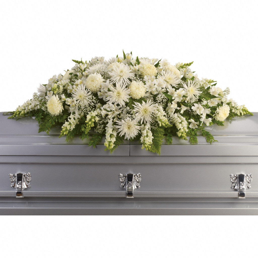 (display image: Enduring Light Casket Spray)