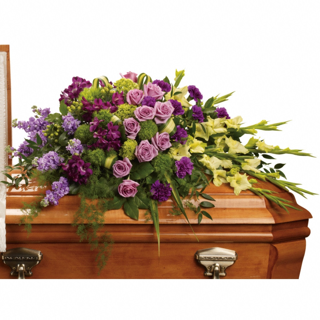 (display image: Reflections of Gratitude Casket Spray)