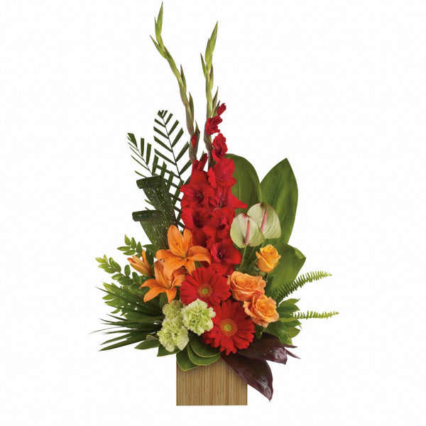 (display image: Heart's Companion Bouquet)