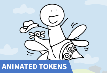 Animated Tokens