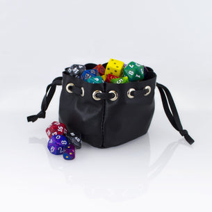 Handmade Leather Dicebag (Varvite Leather)