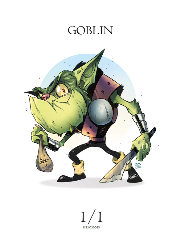 Goblin Token for MTG (Diogo Lopes) Token Diogo Lopes - Cardamajigs