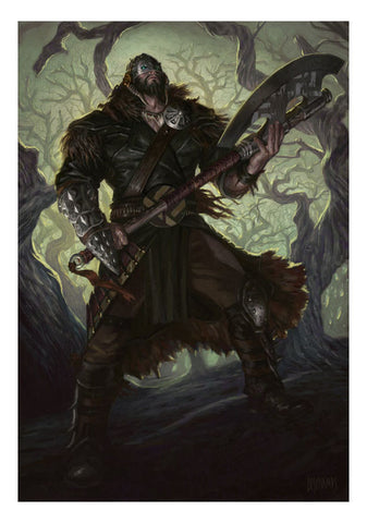 Garruk Relentless - MTG Print (Eric Deschamps)