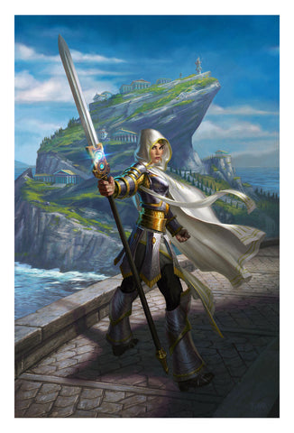 Elspeth, Sun's Champion - MTG Print (Eric Deschamps)