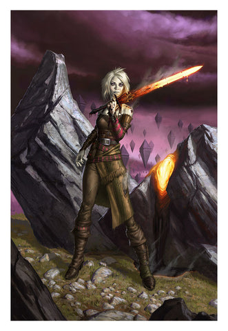 Nahiri, the Lithomancer - MTG Print (Eric Deschamps)