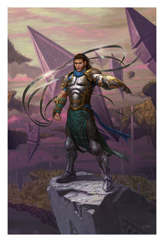 Gideon, Ally of Zendikar - MTG Print (Eric Deschamps)