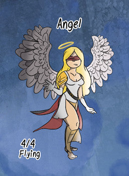 4x Angel Tokens for MTG (ROS)