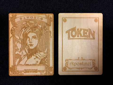 Angel Wood Token (RK Post)