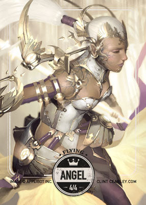 Angel 2 token for MTG (Clint Cearley)