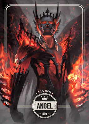 Angel token for MTG (Clint Cearley)