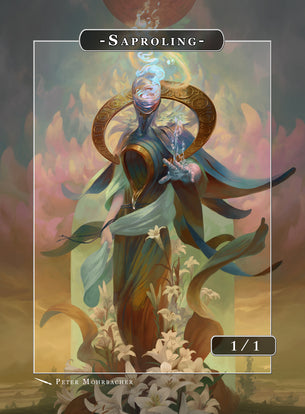 Saproling Aquarius Token for MTG (Peter Mohrbacher)