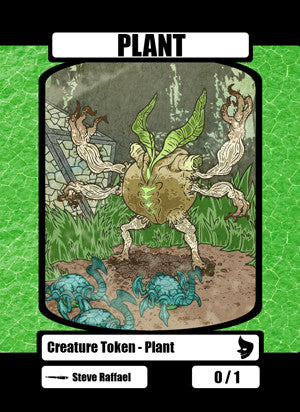 Plant (Nissa) Token for MTG (SRA)