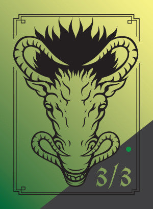 Beast Token for MTG (DMA) Token Damm Designs - Cardamajigs
