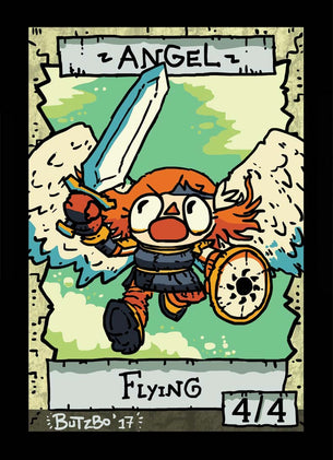 Angel Token for MTG (Butzbo)