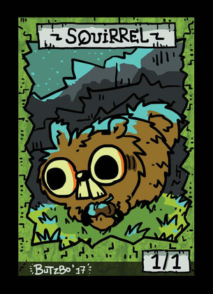 Squirrel Token for MTG (Butzbo)