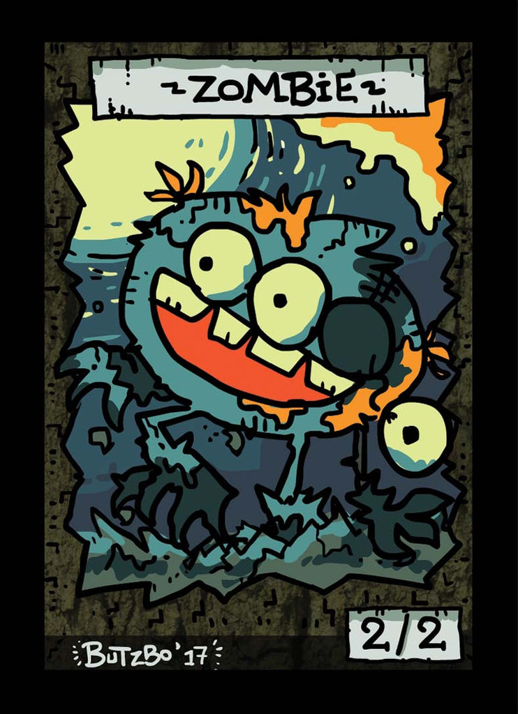 Zombie Token for MTG (Butzbo)