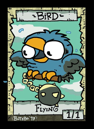 Bird Token for MTG (Butzbo)