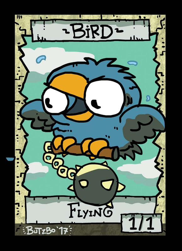 Bird Token for MTG (Butzbo) Token Butzbo - Cardamajigs