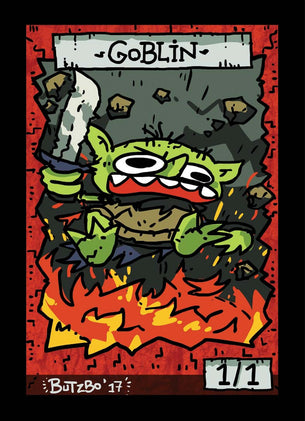 4x Goblin 2 Tokens for MTG (Butzbo)