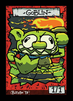 Goblin 3 Token for MTG (Butzbo)