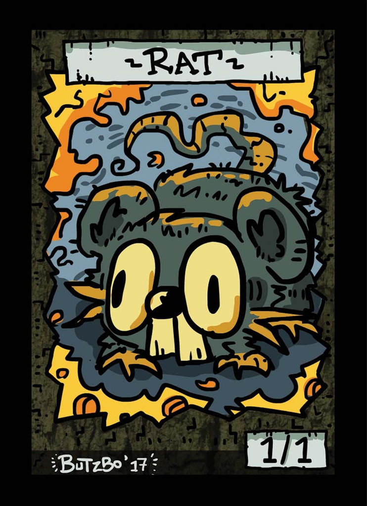 Rat Token for MTG (Butzbo)