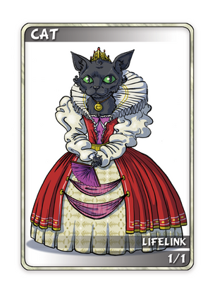 Cat 1/1 Token for MTG (Anthony Briglia)