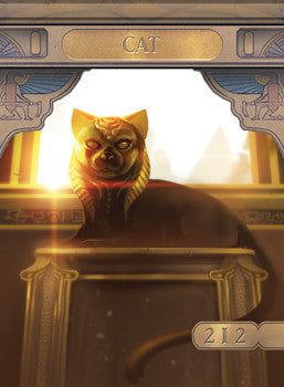 Cat Token for MTG (ISH) Token A.Lundell - Cardamajigs