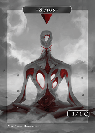 Scion Blood Token for MTG (Peter Mohrbacher)