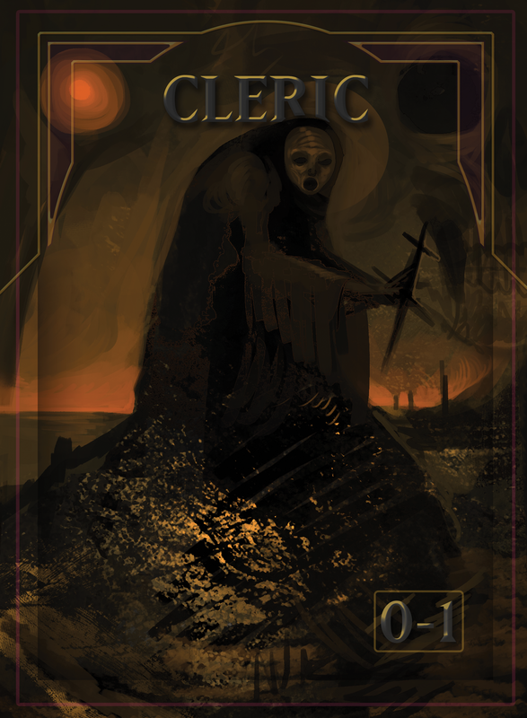 Cleric Token for MTG (ISH) Token A.Lundell - Cardamajigs