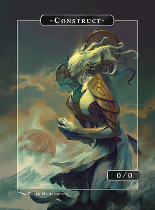 Construct Ambreil Token for MTG (Peter Mohrbacher)