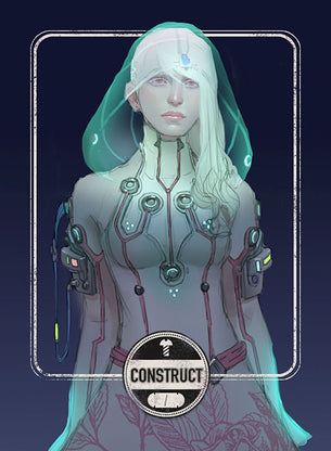 Construct Dark token for MTG (Clint Cearley)