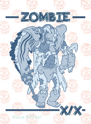 Zombie Token for MTG (SRA)