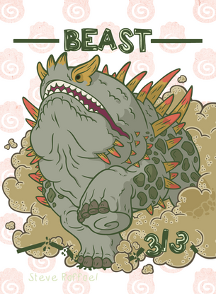 Beast Token for MTG (SRA)