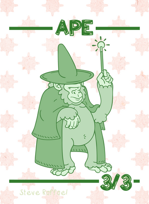 Ape Token for MTG (SRA)