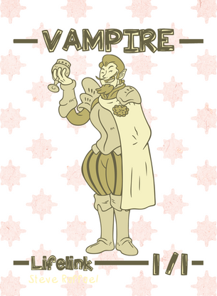 Vampire Lifelink Token for MTG (SRA)